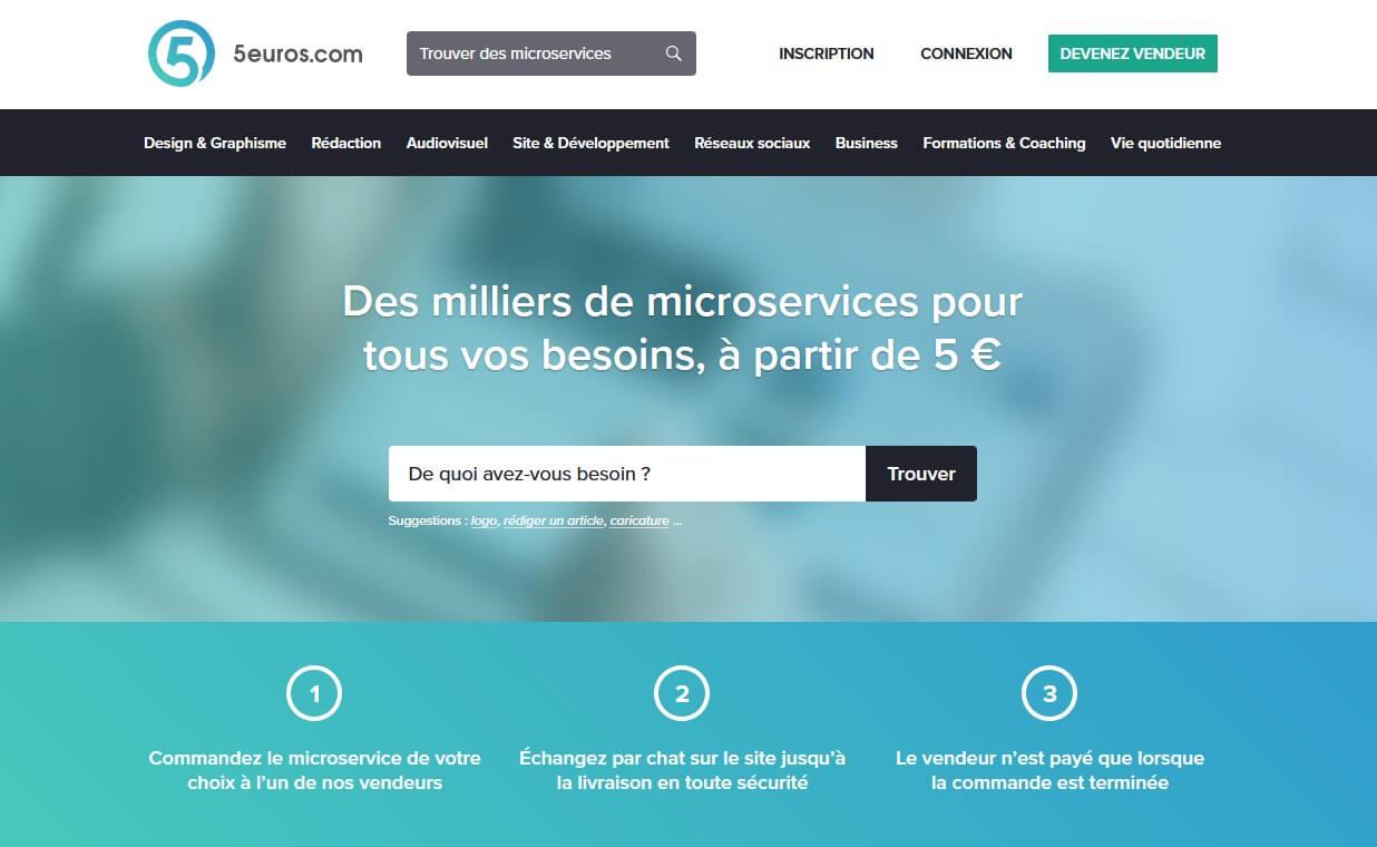 Plateforme freelance 5euros